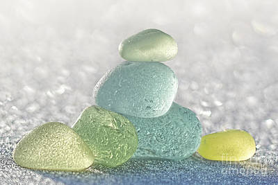 Arctic Spring Sea Glass Poster