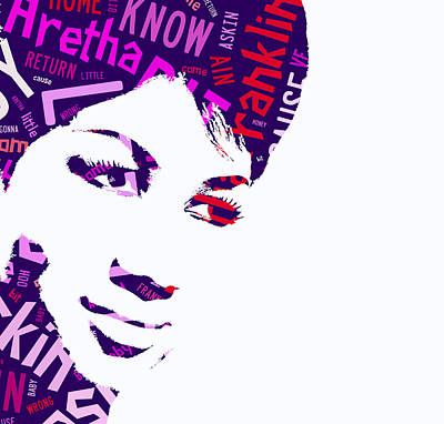 Aretha Franklin Respect Poster