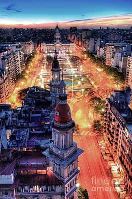 Argentina National Congress Poster