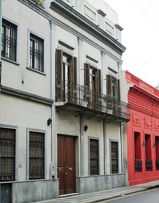 Argentine City Scene Poster