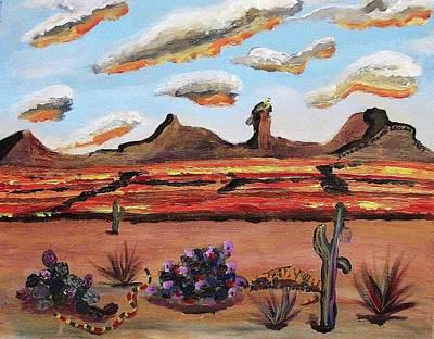 Arizona Desert Poster