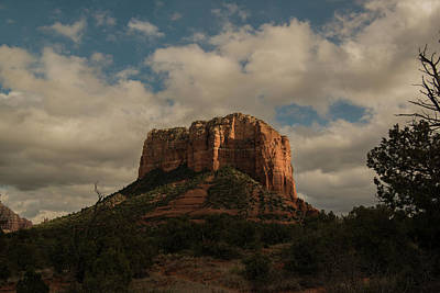 Poster featuring the photograph Arizona Red Rocks Sedona 0222 by David Haskett