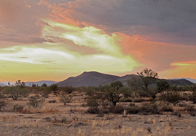 Arizona Skies Poster by Gordon Beck