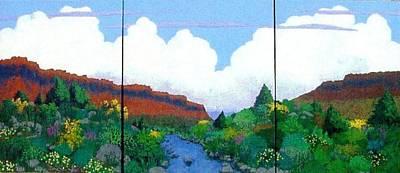 Arizona Sky Poster by Bernard Goodman