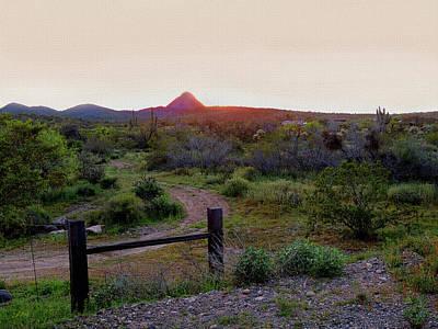Arizona Sundown Poster