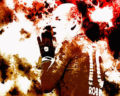 Arjen Robben 2b Poster by Brian Reaves