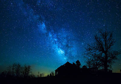 Arkansas Milky Way Poster