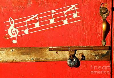 Arkey Blues Door Poster by Joe Jake Pratt