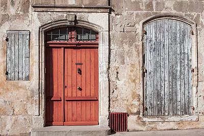 Arles Facade Poster