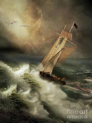 Armageddon Poster by Nancy Dempsey