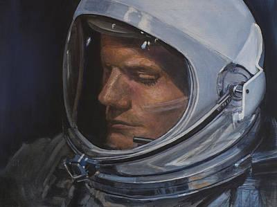 Armstrong- Gemini Viii Poster by Simon Kregar