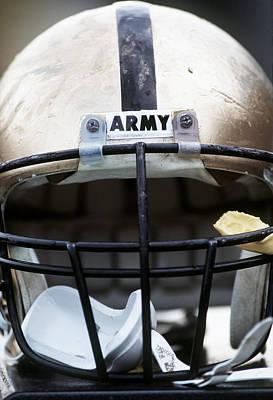 Army Football Helmet Poster