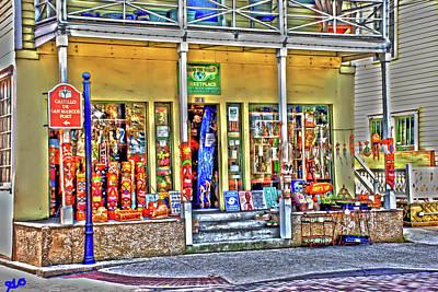 Around The World Marketplace Saint Augustine Poster