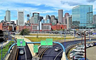 Arriving To Boston Poster by Frozen in Time Fine Art Photography