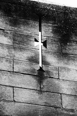 Poster featuring the photograph Arrow Slit by Rasma Bertz