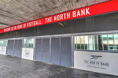 Arsenal Fc Emirates Stadium London North Bank Poster by David Pyatt