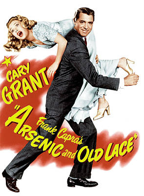 Arsenic And Old Lace, Priscilla Lane Poster by Everett