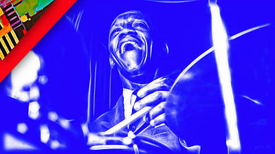 Art Blakey Collection Poster