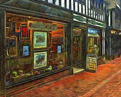 Art  Boutique In Ipswich Poster by Dan Mintici