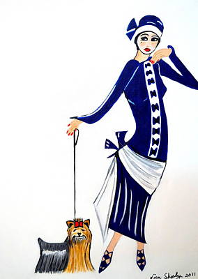 Art Deco  Diane 1920's Poster