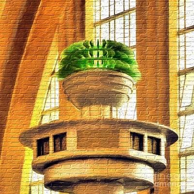 Art Deco On Bricks Poster by Mel Steinhauer