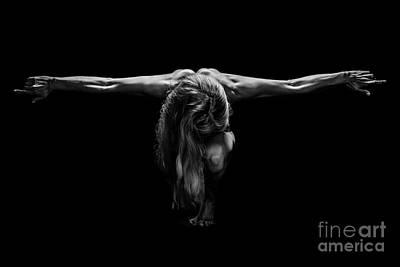 Art Of A Woman Body Builder Poster