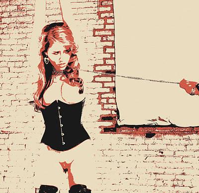 Art Of Bondage - Girl In The Cellar Poster
