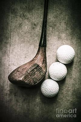 Art Of Golfing Poster