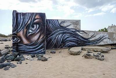 Art Or Graffiti Poster