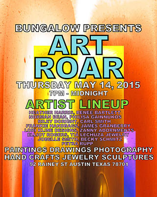 Art Roar May 2015 Poster by James Granberry