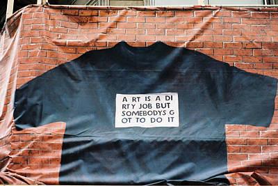 Art Shirt Poster