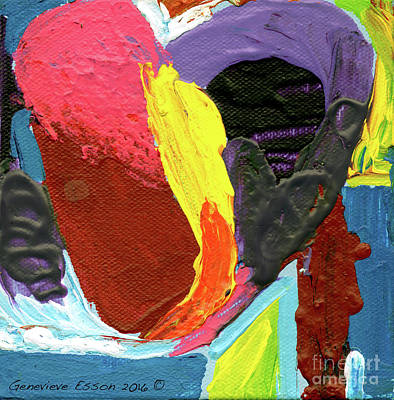 Art With Heart 1 Poster by Genevieve Esson