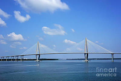 Arthur Ravenel Jr. Bridge - Charleston Poster
