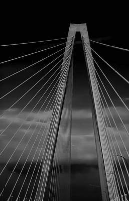 Arthur Ravenel Jr Bridge Poster by DigiArt Diaries by Vicky B Fuller