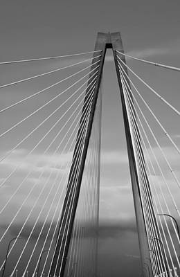 Arthur Ravenel Jr Bridge II Poster by DigiArt Diaries by Vicky B Fuller