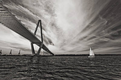 Arthur Ravenel Jr. Bridge Over The Cooper River Poster