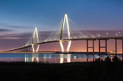 Arthur Ravenel Jr. Cooper River Bridge Charleston South Carolina Poster
