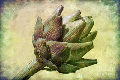 Artichoke Poster by Susan Isakson