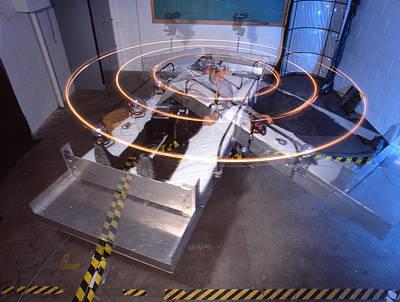 Artificial Gravity Platform Poster by Volker Steger