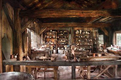 Artist - Potter - The Potters Shop  Poster