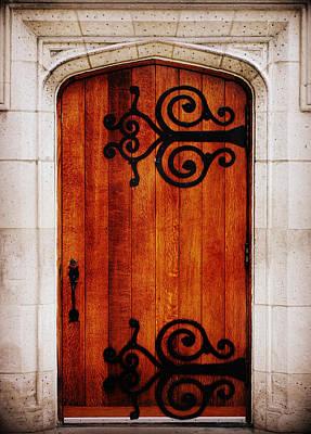 Artist Entrance Poster by Linda Mishler