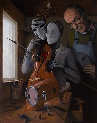 Artist In Love Iv Poster