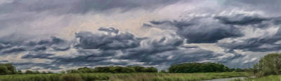 Artistic Cloudscape June 2015 Poster by Leif Sohlman