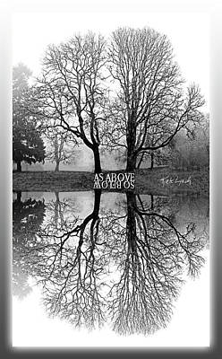 As Above So Below-mono I Poster