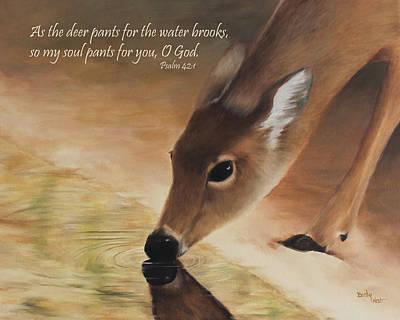 As The Deer Verse Poster