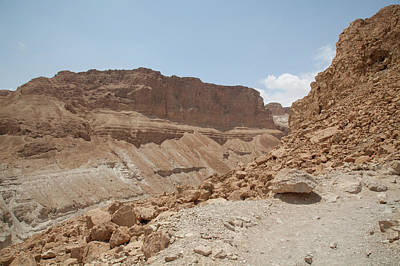 Poster featuring the photograph Ascension To Masada - Judean Desert, Israel by Yoel Koskas