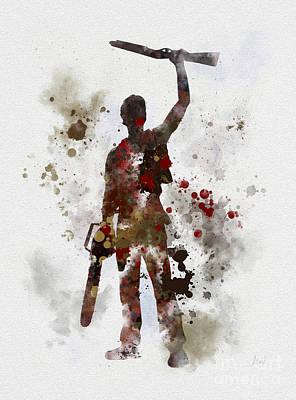 Ash Poster by Rebecca Jenkins