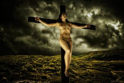 Asian Jesus Crucifix V Poster