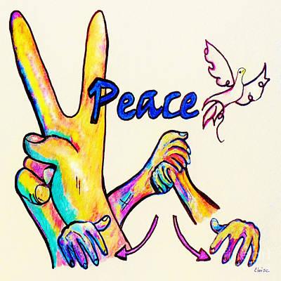 Asl Peace Poster