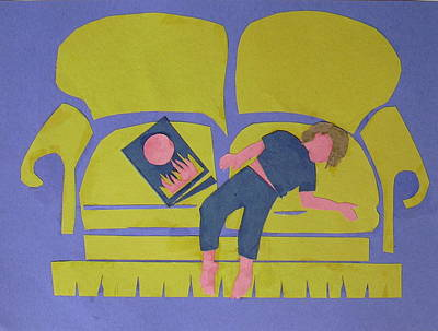 Asleep Poster by Betty Pieper
